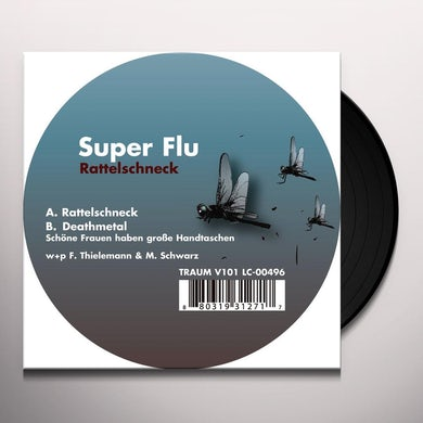 Super Flu RATTELSCHNECK Vinyl Record