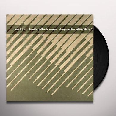Monolake PLUMBICON VERSIONS 1 Vinyl Record
