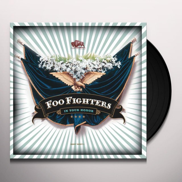Foo Fighters IN YOUR HONOR Vinyl Record