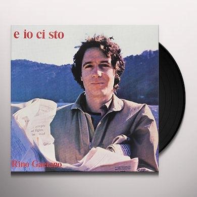 Rino Gaetano E IO CI STO Vinyl Record - Italy Release