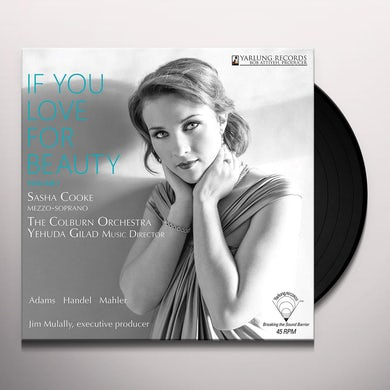 Sasha Cooke IF YOU LOVE FOR BEAUTY VOL. 1 Vinyl Record