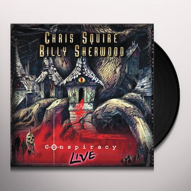 Chris Squire / Billy Sherwood CONSPIRACY LIVE Vinyl Record