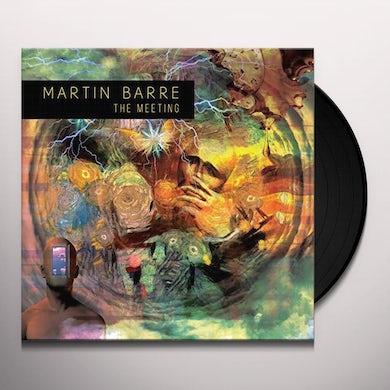 Martin Barre THE MEETING Vinyl Record