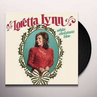 Loretta Lynn White Christmas Blue Vinyl Record