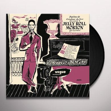 Jelly Roll Morton PIANOS SOLOS Vinyl Record