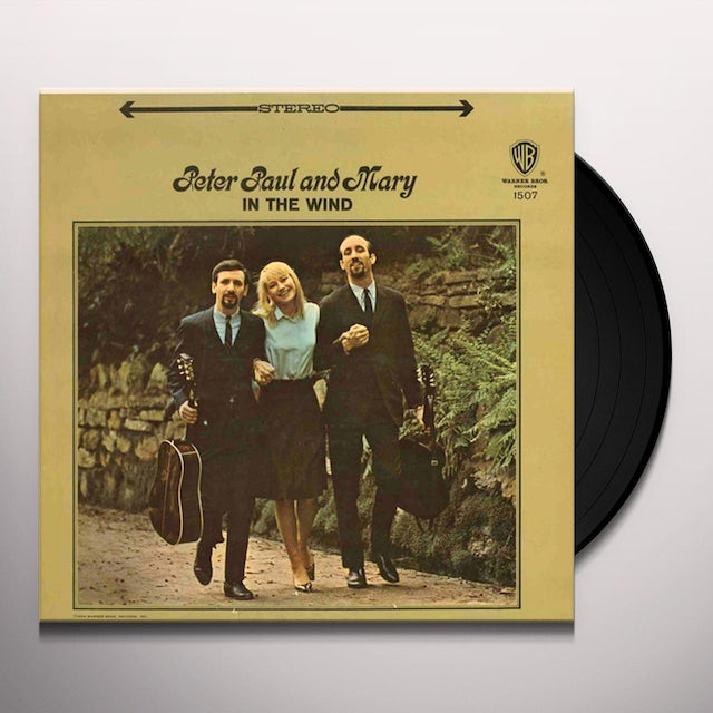Peter Paul & Mary IN THE WIND Vinyl Record