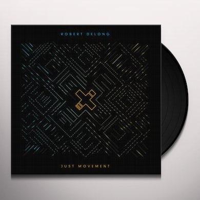 Robert Delong JUST MOVEMENT Vinyl Record