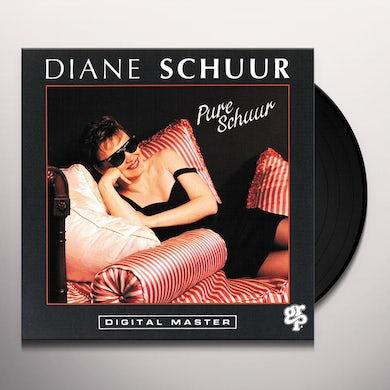 Diane Schuur PURE SCHUUR Vinyl Record