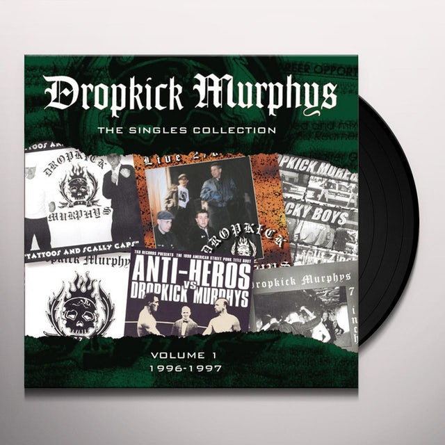 Dropkick Murphys SINGLES COLLECTION Vinyl Record