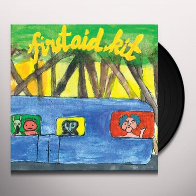 First Aid Kit The Drunken Trees (Limited Edition Yello Vinyl Record