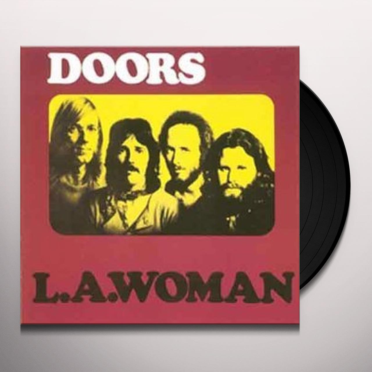 The Doors L A  WOMAN Vinyl Record