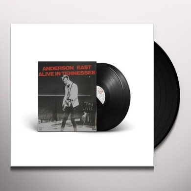 Anderson East ALIVE IN TENNESSEE Vinyl Record