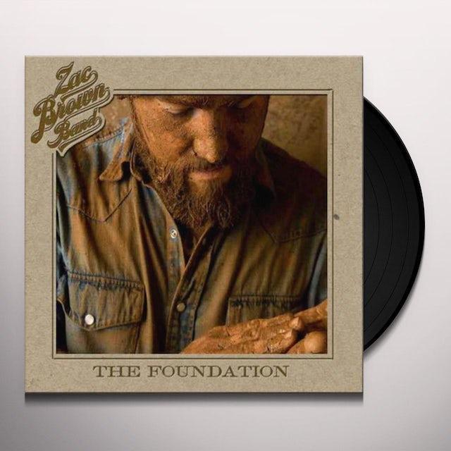 Zac Brown Band FOUNDATION Vinyl Record