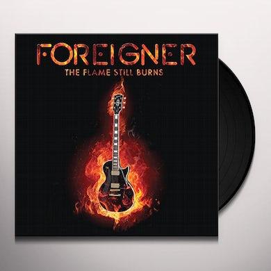 Foreigner FLAME STILL BURNS Vinyl Record