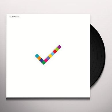Pet Shop Boys Yes Vinyl Record