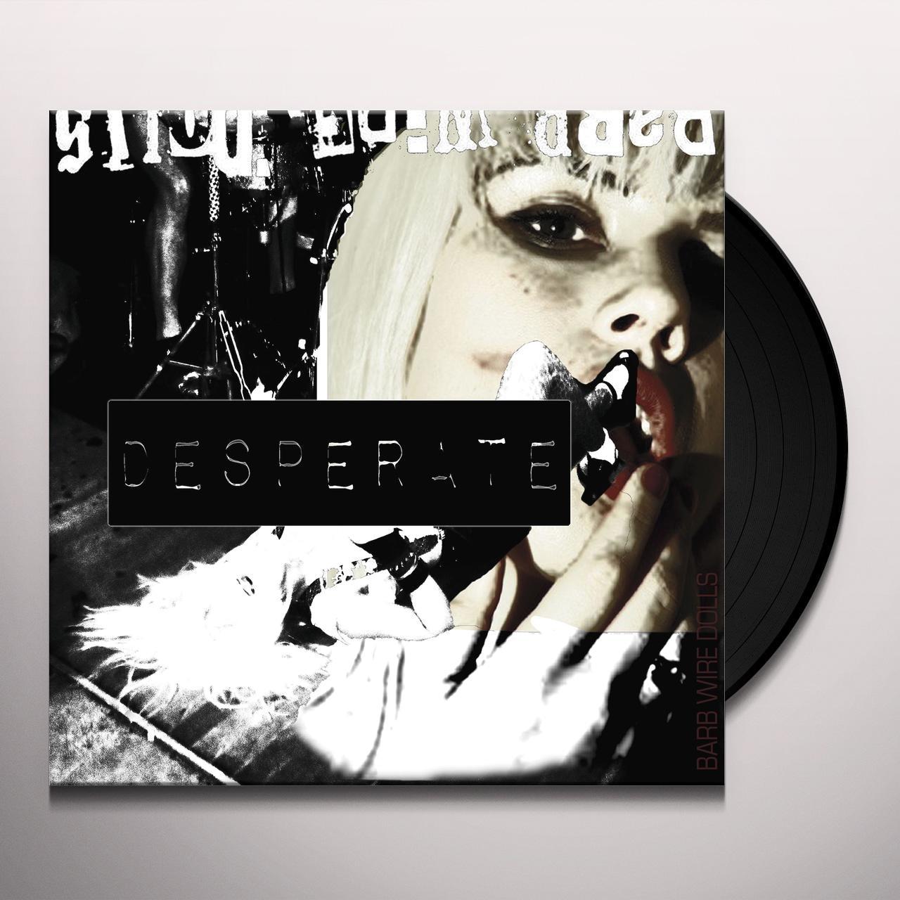 Barb Wire Dolls DESPERATE Vinyl Record