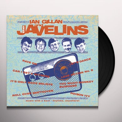 RAVING WITH IAN GILLAN & THE JAVELINS Vinyl Record