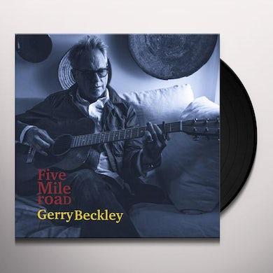 Gerry Beckley Five Mile Road Vinyl Record