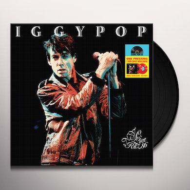 Iggy Pop LIVE AT THE RITZ NYC 1986 Vinyl Record