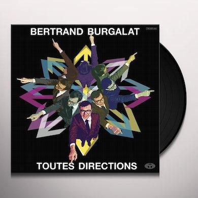Bertrand Burgalat TOUTES DIRECTIONS Vinyl Record