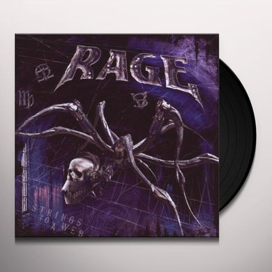 Rage STRINGS TO A WEB Vinyl Record