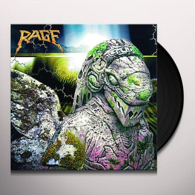 Rage END OF ALL DAYS Vinyl Record