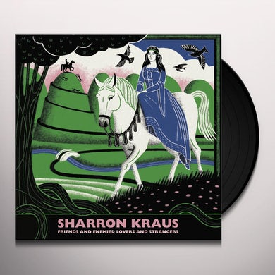 Sharron Kraus FRIENDS AND ENEMIES / LOVERS AND STRANGERS Vinyl Record