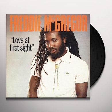 Freddie Mcgregor LOVE AT FIRST SIGHT Vinyl Record