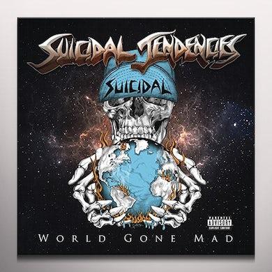 Suicidal Tendencies WORLD GONE MAD (BLUE VINYL) Vinyl Record
