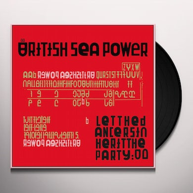 British Sea Power LET THE DANCERS INHERIT THE PARTY Vinyl Record