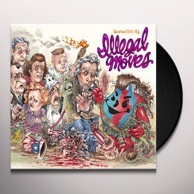 ILLEGAL MOVES Vinyl Record