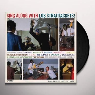Sing Along With Los Straitjackets Vinyl Record
