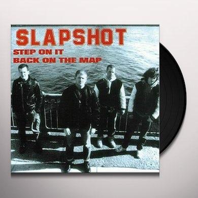 Slapshot STEP ON IT Vinyl Record