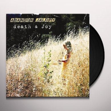 Abandon Jalopy DEATH & JOY Vinyl Record