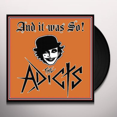 The Adicts & IT WAS SO Vinyl Record