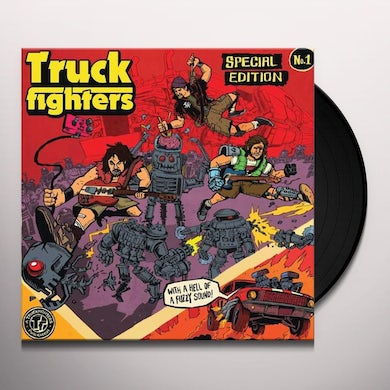 Truckfighters GRAVITY X/PHI Vinyl Record - Holland Release