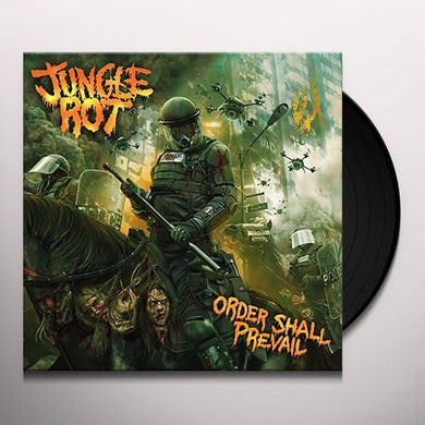 Jungle Rot ORDER SHALL PREVAIL Vinyl Record