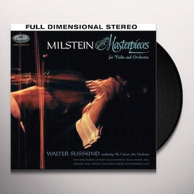 Nathan Milstein MASTERPIECES Vinyl Record
