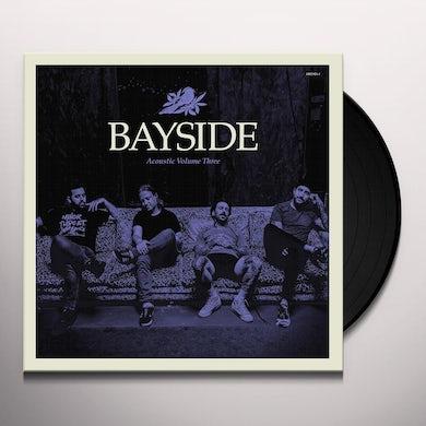 Bayside ACOUSTIC VOL. 3 (TRANSPARENT PURPLE VINYL) Vinyl Record