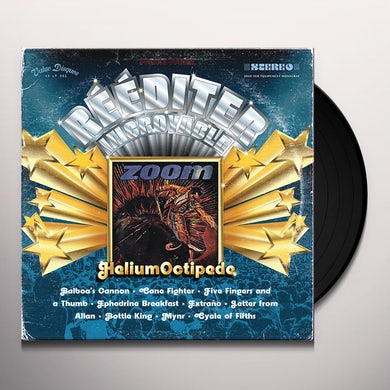 Zoom HELIUM OCTIPEDE Vinyl Record