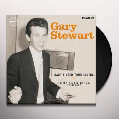 Gary Stewart MOWTOWN Vinyl Record