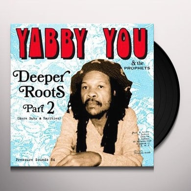 Yabby You DEEPER ROOTS PART 2 Vinyl Record