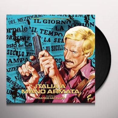 Franco Micalizzi ITALIA A MANO ARMATA Vinyl Record
