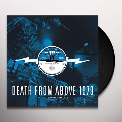 Death From Above LIVE FROM THIRD MAN RECORDS Vinyl Record