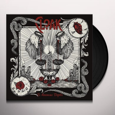 Cloak TO VENOMOUS DEPTHS Vinyl Record
