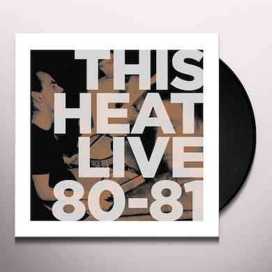LIVE 80 - 81 Vinyl Record