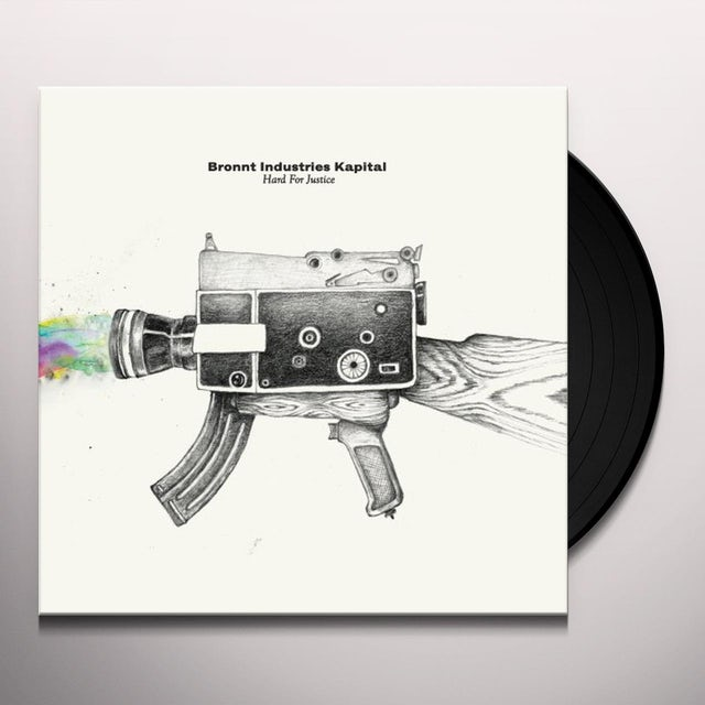 Bronnt Industries Kapital HARD FOR JUSTICE Vinyl Record