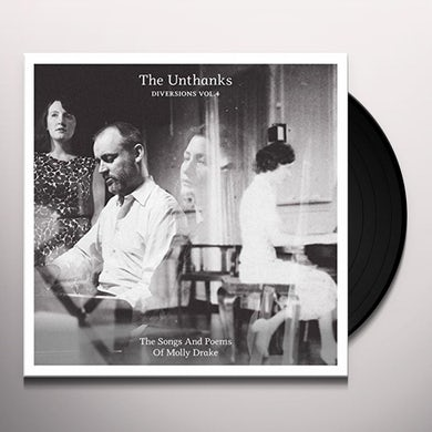 THE UNTHANKS DIVERSIONS 4: SONGS AND POEMS OF MOLLY DRAKE Vinyl Record