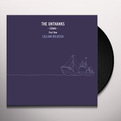 THE UNTHANKS LINES PART ONE: LILLIAN BILOCCA Vinyl Record