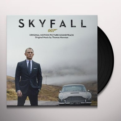 Thomas Newman SKYFALL - Original Soundtrack Vinyl Record